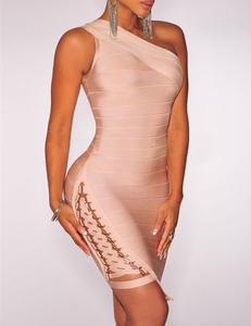 Lace up bandage dress