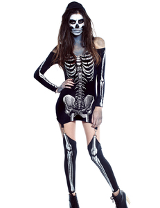 Skelet jurkje met bretels
