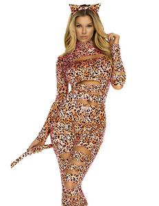 Sexy luipaard kostuum