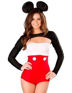 Minnie mouse kostuum