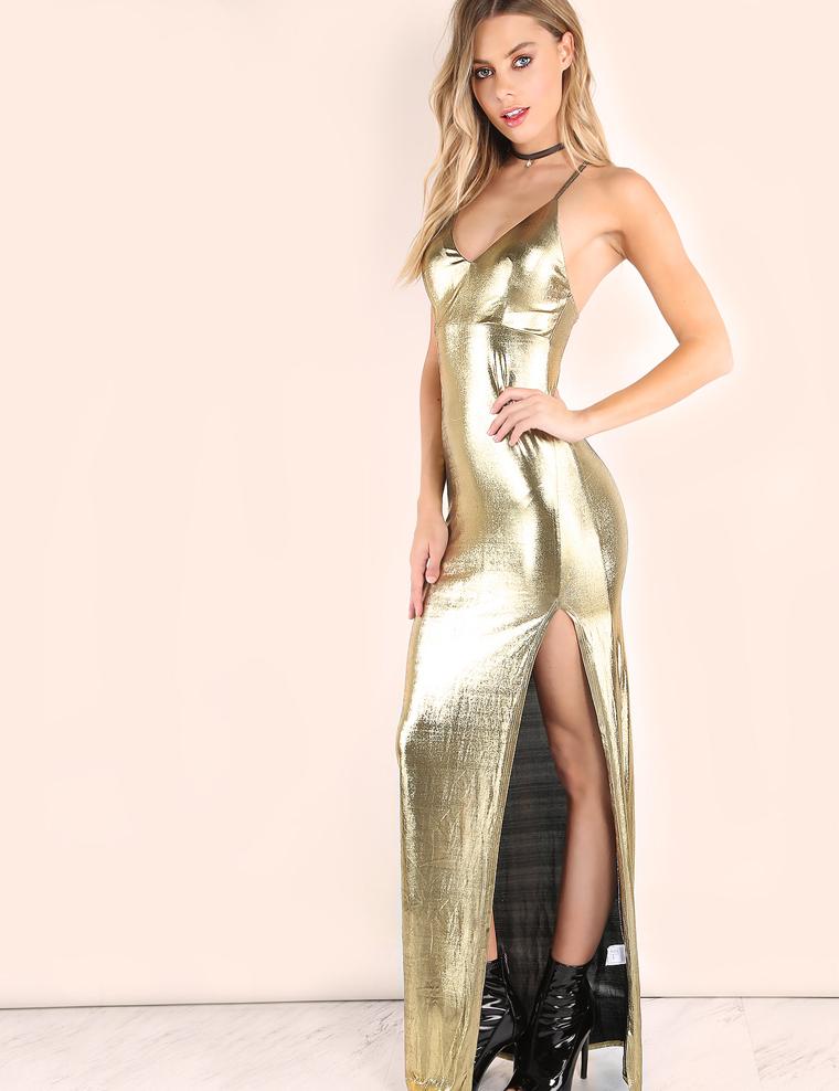 Een gouden jurk kopen bij Lucasa Fashion. Je bent op zoek naar een mooie, gouden jurk? Je wilt echt eens opvallen bij een feest of een andere speciale gelegenheid? Gouden jurken zijn hier dan natuurlijk perfect voor geschikt. We raden je hiervoor aan om eens een kijkje te komen nemen bij Lucasa Fashion.