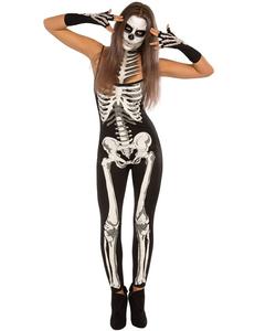 Skeleton halloween kostuum