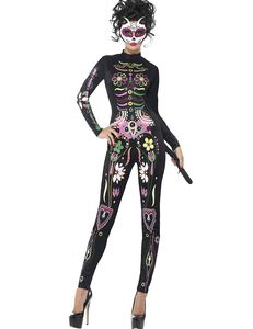 Colourful jumpsuit halloween