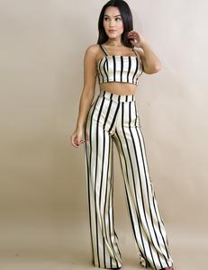 Gold striped set