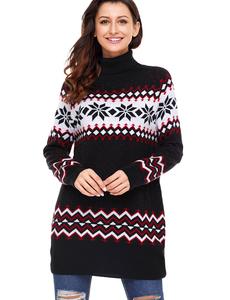 Ugly christmas sweater zwart