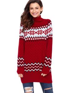 Ugly christmas sweater rood