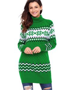 Ugly christmas sweater groen