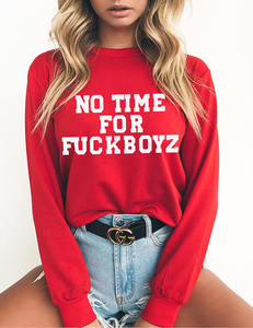 No time for fckboys rood