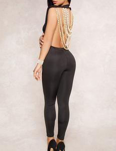 Pearl jumpsuit zwart