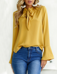 Mostard blouse