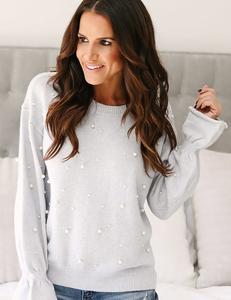 Pearl sweater grey