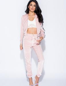 Pink velvet 2 piece