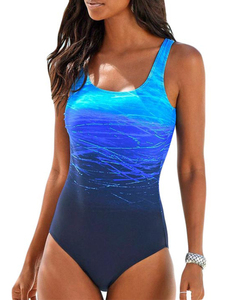 Swimmingsuit gradient blue