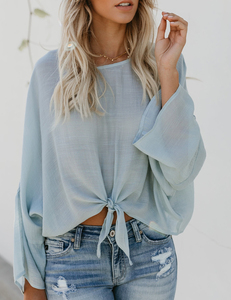 Loose top blue