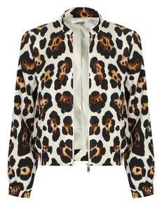 Luipaard jasje wit