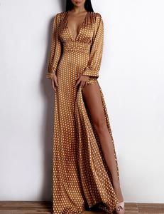 Brons dot dress