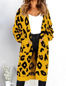 Luipaard vest geel