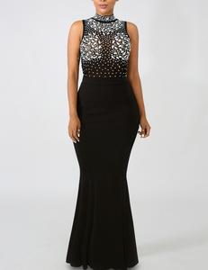Zwarte avond jurk