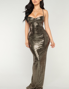 Radiant sequin dress
