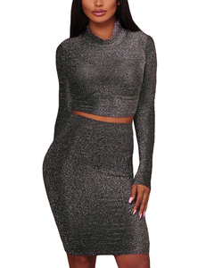 Metallic 2 piece