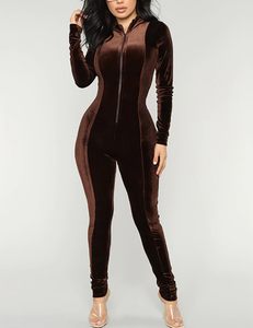 Brown Kylie jumpsuit